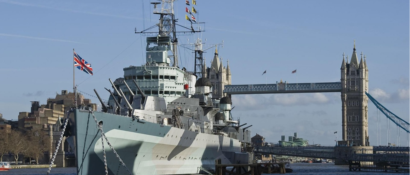 HMS Belfast London and Home Counties Technical Evening