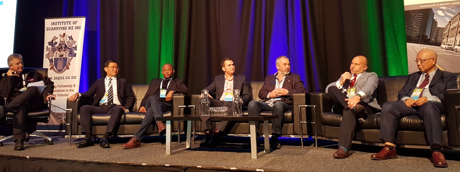 IQ President speaking at IQ New Zealand Conference 2018