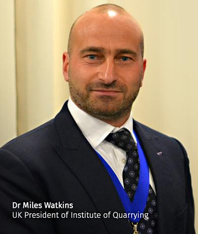 Dr Miles Watkins, IQ President