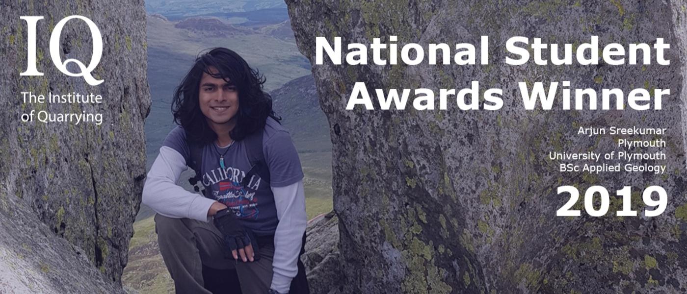 IQ National Student Award Winner 2019 Arjun Sreekumar