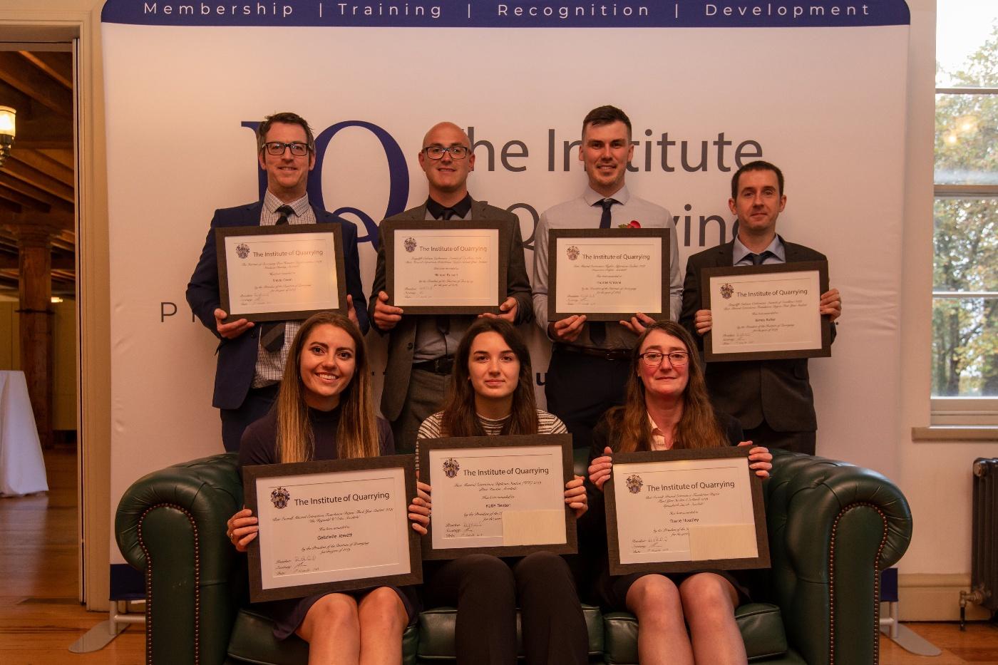 IQ student award winners