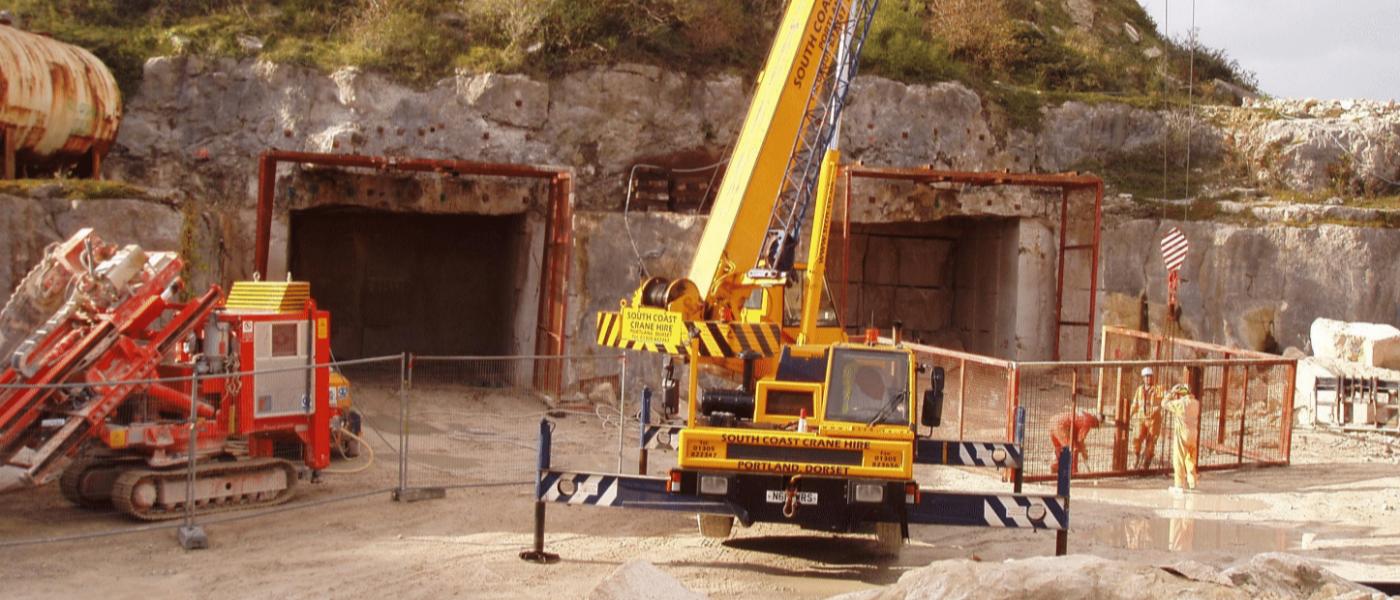 Portland Quarry Going Underground