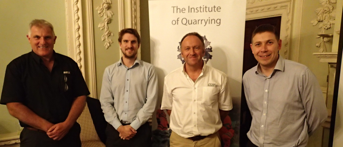 GrahamLamond_Yorkshire Branch Meeting Report October 2016_LefttoRight Ian Cobden (Bell Equipment) Aidan Ranftler (Technical Chairman) Robin Piper (Bell Equipment) Steve Curtin (Branch Chairman).png
