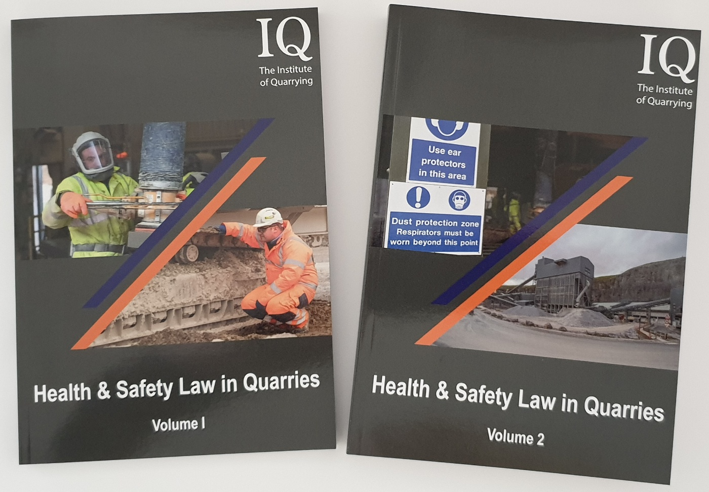 H&S Law in Quarries Vol 1 and 2
