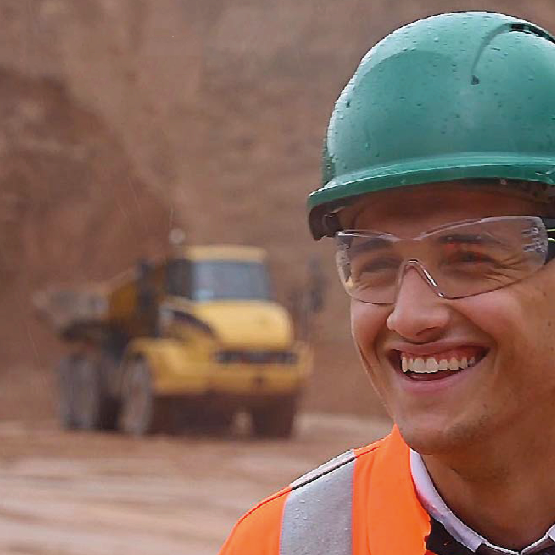 Joshua Mason Assistant Quarry Manager