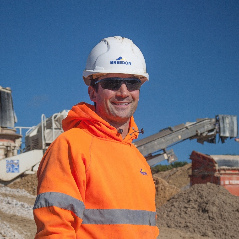 Julian Veal Quarry and Recycling Manager